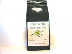 Green tea Sencha Earl-Grey