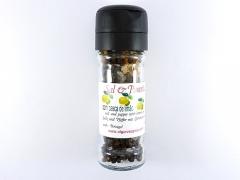 Mill salt and pepper, lemon