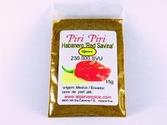 Habanero  Red Savina, grained