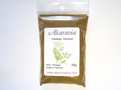 Caraway, seeds ground