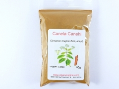 Cinnamon Canehl, ground