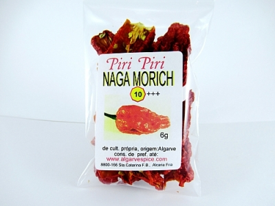Chilli, chopped, Habanero Naga Morich
