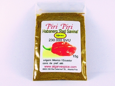Habanero ' Red Savina', grained