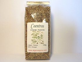 Coriander seeds, whole