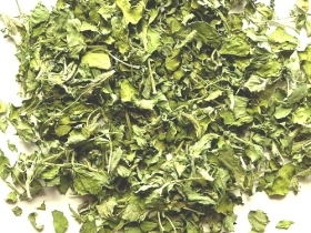 Fenugreek leaves, shopped, Algarve