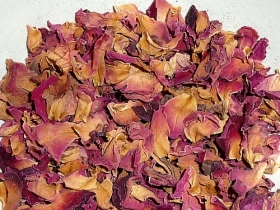 Rosa flor, pétalas
