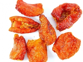 Smoked chili peppers,