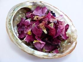Stockrose (Eibisch), Blütenblätter