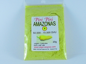 Chilli Amazonas, yellow, grained