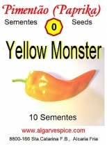 Paprika seeds Yellow Monster