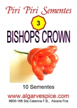 Chili pepper seeds, Bishops Crown