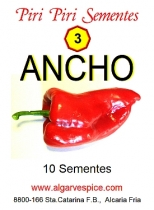 Chili pepper seeds, Ancho 101 (red)