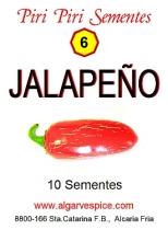 Chili pepper seeds, Jalapeño