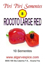 Chili pepper seeds, Rocoto Large Red