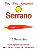 Chili seeds, Serrano