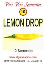 Chili pepper seeds, Lemon Drop