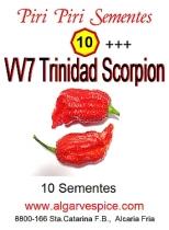 Chili pepper seeds, VV7 Trinidad Scorpion
