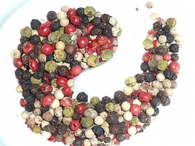Mixed Peppercorns, whole