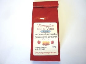 Paprika smoked Pimenton de la Vera, mild, ground