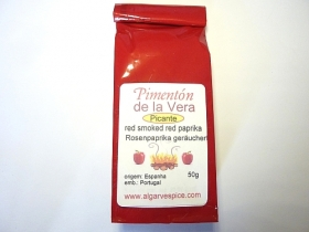 Paprika smoked Pimenton de la Vera, hot, ground