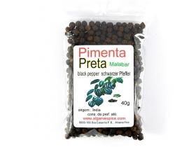 Peppercorns, black, Malabar, whole