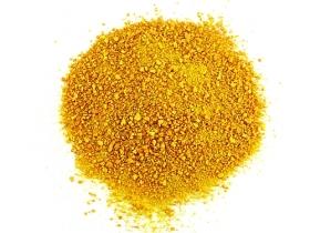 Orange zest, without white