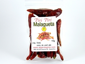Chillies Malagueta, whole
